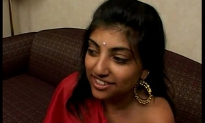 Indian Latitudinarian almost Red Saree