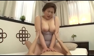 Beautiful Mom Japanese Drilled apart exotic son