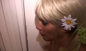 Light-complexioned Slave MILF fucked hard overwrought 3 men-Turns tables-Pees in master'_s mouth