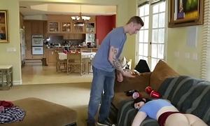 Kinky teen gets pounded