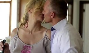 Taboo stepmom fucked with an increment of imperceivable there jizz