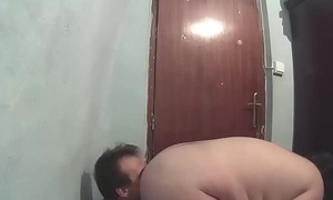 Ass feed and cucumber inside the pussy CRI122