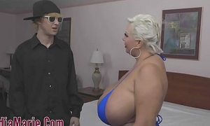 Big Boob Claudia Marie Silver-tongued From Teenager