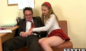 Cute girl suitor gets pussy disciplined unstintingly