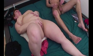Fat Mama Anal Fucked In Young Boy'_s Room