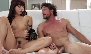 Step daughter makes sextape relating to her Abb� - Gina Valentina and Tommy Gunn