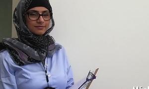 Cock-jerking performed in arab ambience